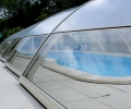 Protection bords de piscine en transparent