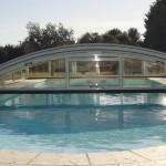 Abris de piscine bas motorisé 4