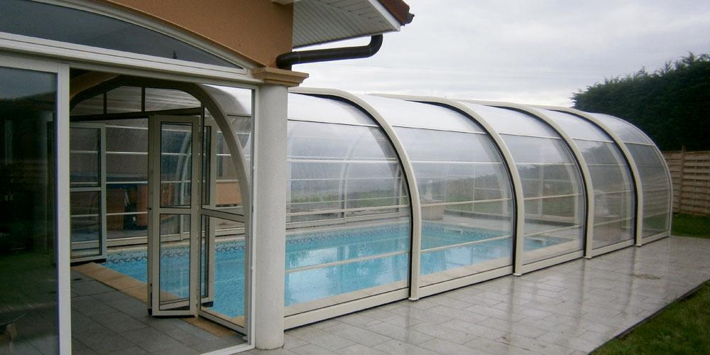Abris de piscine haut Elie Adosse